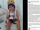 Menino alagoano que lutava contra leucemia morre em hospital