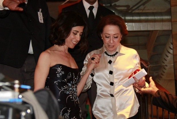 Fernanda Torres e Fernanda Montenegro (Foto: Isac Luz / EGO)