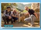 Trio de MS regrava música Trem do Pantanal em Machu Picchu