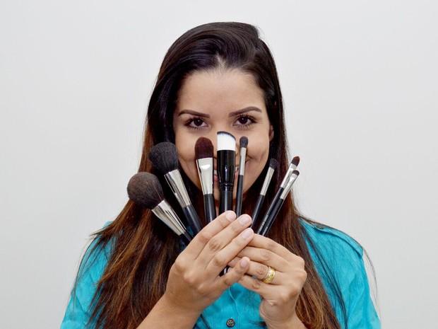 Camila Borges maqueadora Uberlândia (Foto: Paula Dias Fotografia)