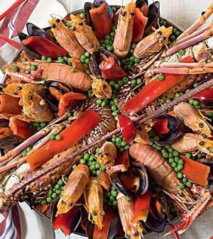 Paella Don Curro com lagosta (Foto:  )