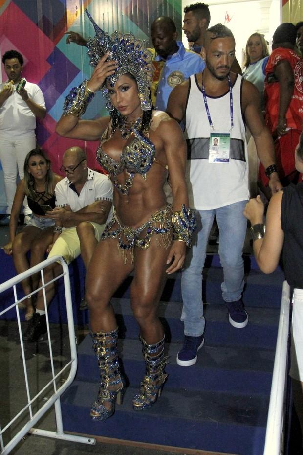Gracyanne Barbosa E Belo (Foto: Marcos Ferreira / Brazil News)