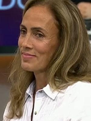 A ex-jogadora de vôlei Ida (Foto: TV Globo/Reprodução)
