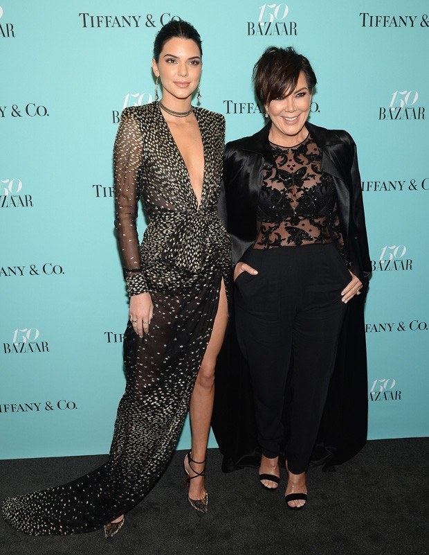 Kendall Jenner e a mãe, Kris Jenner (Foto: Getty Images)