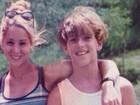 Danielle Winits relembra passado com o atual namorado em foto do baú