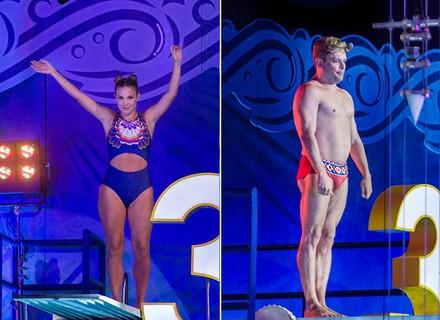 Maíra Charken e Bruno Chateaubriand vencem o 'Saltibum 2016'; veja saltos
