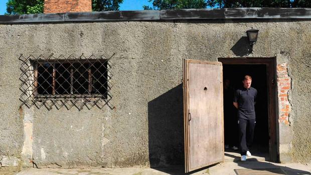 rooney inglaterra auschwitz campo de concentração (Foto: Agência Reuters)