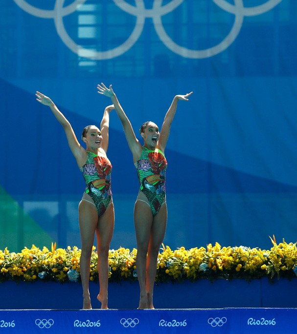 Luisa Borges e Maria Eduarda Micucci do Brasil (Foto: Getty Images/Clive Rose)