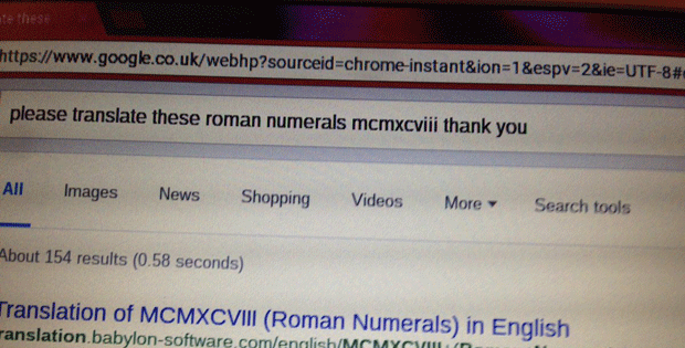 Vovó faz 'busca educada' no Google e comove a Internet (Foto: Ben John/Twitter)