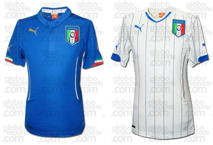 nova camisa Italia  Copa