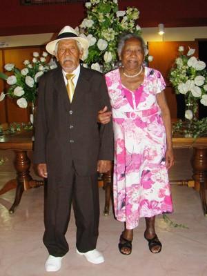 Casal comemora 70 anos de casados em Campinas (Foto: Jorge Vicente/ Arquivo pessoal)