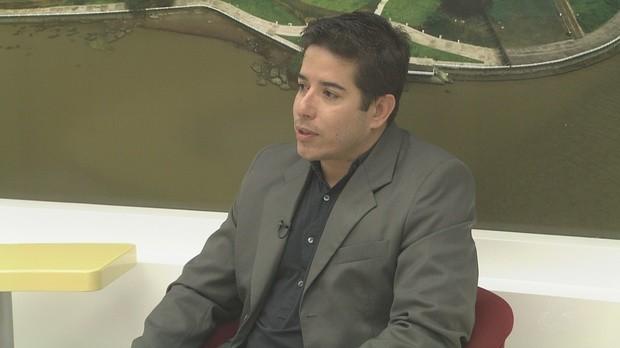 Rafael Pontes, pro-reitor da unifap, bom dia amazônia, amapá (Foto: Bom Dia Amazônia)