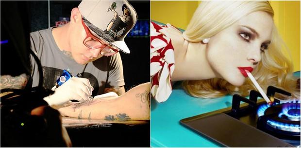 Estúdio de tatuagem com Rico Fogaça e exposição  do  britânico Miles Aldridge são as atrações do 40ª edição do SPFW  (Foto: Reprodução do Instagram)