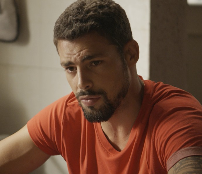 O ex-lutador prefere não julgar Tóia (Foto: TV Globo)