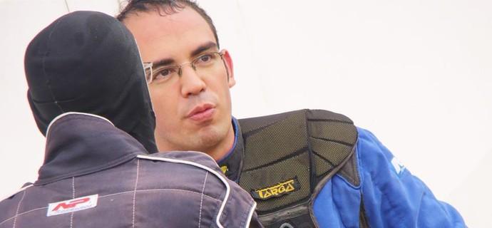 Lucena fará últimos ajustes na véspera da corrida (Foto: arquivo pessoal)