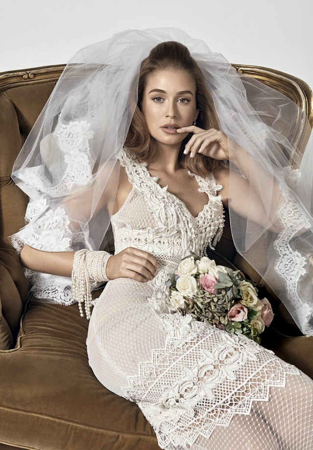 Marina Ruy Barbosa usa vestido Dolce & Gabbana (Foto: Gil Inoue. Styling: Alexandra Benenti e beleza de Silvio Giorgio)