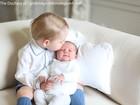 Família real divulga primeiras fotos oficiais da princesa Charlotte