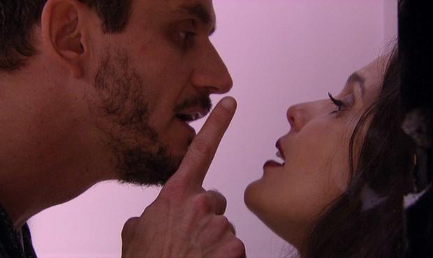 Marcos e Emilly no 'BBB17' (Foto: TV Globo)
