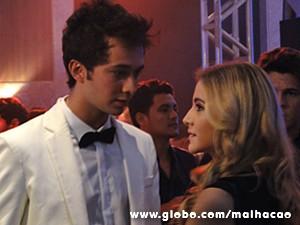 Sofia perde a paciência com Ben (Foto: Malhação / TV Globo)