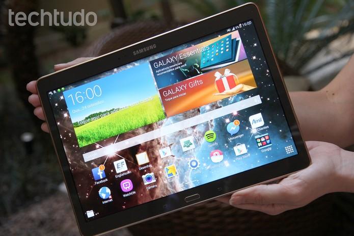 Samsung Tab S Review (Foto: Zíngara Lofrano/TechTudo)