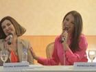 Fotos: Patrícia Poeta e Fátima Bernardes anunciam mudanças no JN