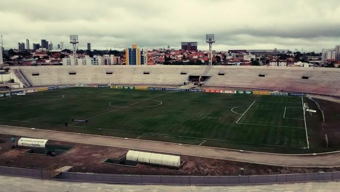 Estádio Amigão (Foto: Expedito Madruga / GloboEsporte.com)