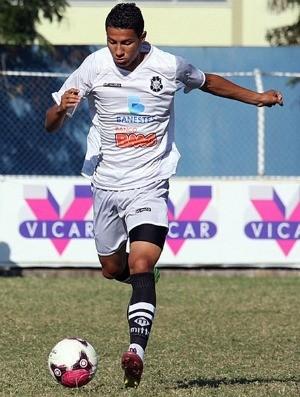 Luiz Felipe, volante do Rio Branco-ES (Foto: Simon Dias/Rádio ES)
