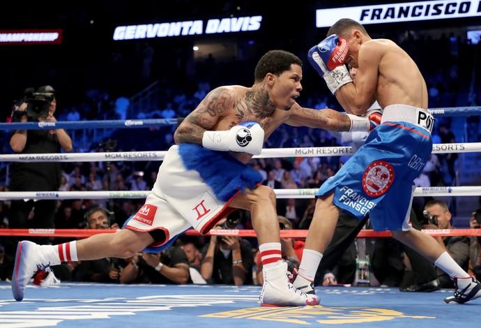 Gervonta Davis x Francisco Fonseca pelo peso-leve-júnior em Las Vegas May-Mac (Foto: Getty Images)