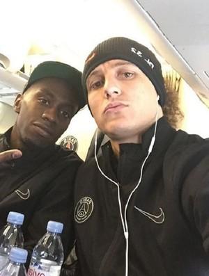 BLOG: Retorno do guerreiro: David Luiz mostra que está ok e viaja com PSG para Madri