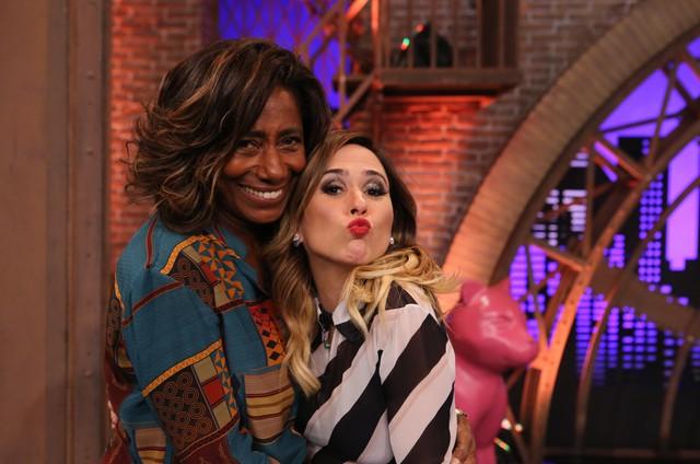 Gloria Maria é uma das convidadas de Tatá Werneck na segunda temporada do 'Lady night' (Foto: Divulgação/Gianne Carvalho)