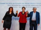 Dilma se encontra com líderes do Mercosul na Argentina