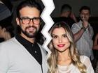 Flávia Viana e Fernando Justin terminam casamento