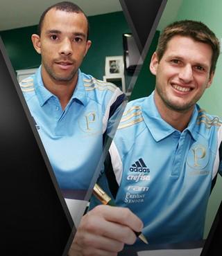Carrossel Assinatura Palmeiras (Foto: GloboEsporte.com)