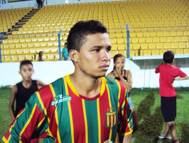 Cleitinho meia do Sampaio (Foto: Afonso Diniz/Globoesporte.com)