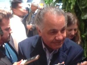 Edemir Pinto, presidente da Bolsa de Valores de São Paulo (Foto: Taís Laporta/G1)