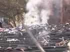 Incêndio em empresa de Blumenau deixa uma pessoa morta