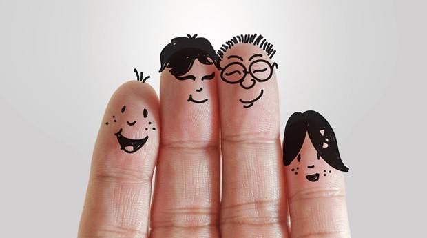 Família: ensine os valores para as crianças que vão assumir os negócios (Foto: Reprodução )