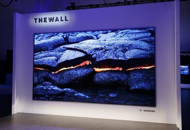 The Wall: conheça a primeira TV modular do mundo, com 146 polegadas (Foto: Divulgação)