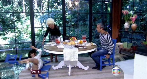 Monica Lozzi vai se 'vingar' de Ana Maria Braga depois do tombo ao vivo http://www.cantinhojutavares.com