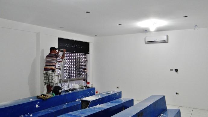 Reforma CSA (Foto: Henrique Pereira/GloboEsporte.com)