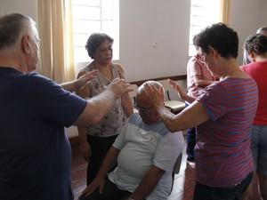 Passe conjugado, com dois ou mais passistas (Foto: Isabela Ribeiro/ G1)