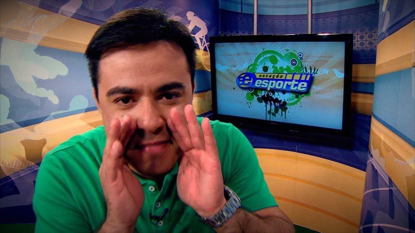 Humberto Gomes no Estação Esporte (Foto: Divulgação)