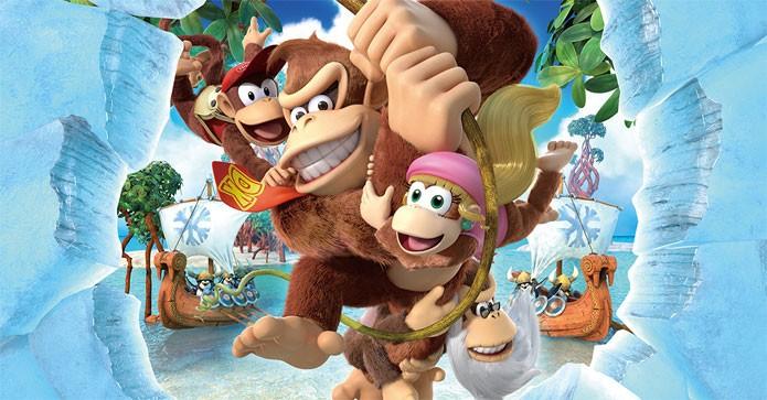 Donkey Kong Tropical Freeze é a estreia do herói no Wii U Donkey-kong-previa-001