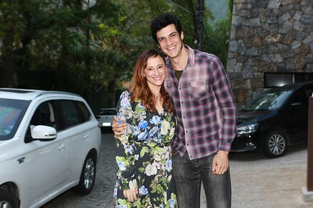 Paula Braun e Mateus Solano no Arraiá do Huck (Foto: Dilson Silva/ Ag. News)