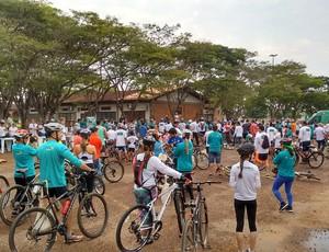 Passeio ciclístico será realizado em Vilhena (Foto: Sicoob/ divulgação)