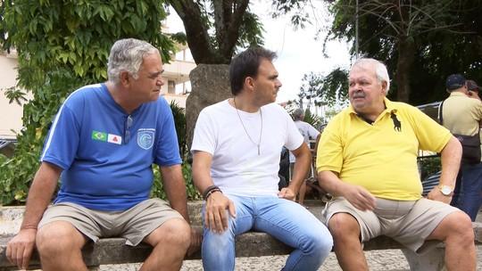 Neste sábado (11), Mário conhece língua 'Pompeu Godê'