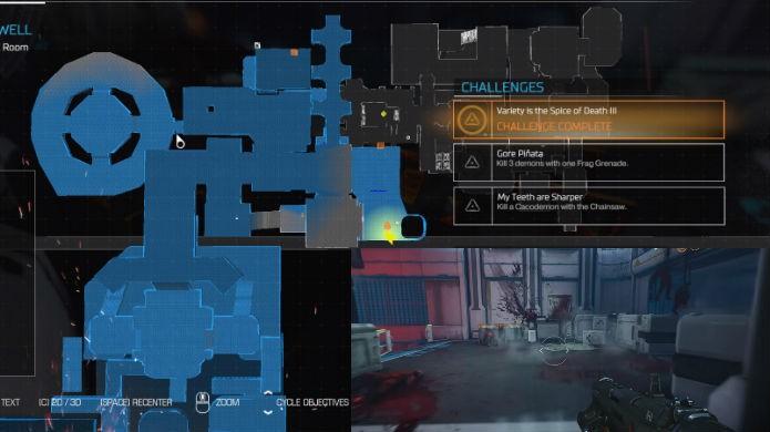 Doom: veja a localização exata da décima segunda alavanca de mapa clássico (Foto: Reprodução/Thomas Schulze)