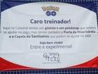 Igreja incentiva 'Pokémon Go' para atrair adolescentes em São José, SP