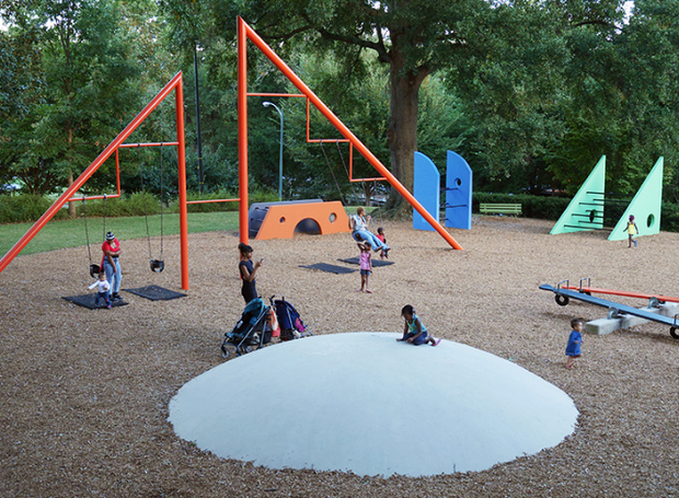 Playground Piedmont Park Playscape (Foto: Reprodução/Herman Miller )