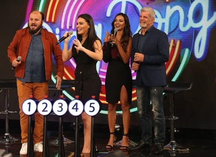 'Ding Dong': Letícia Lima e Paulinho Serra enfrentam Michelle Martins e Raul Gazolla